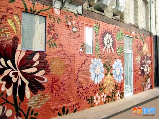 实体店-萍艺工作室-手绘壁画,居家墙绘