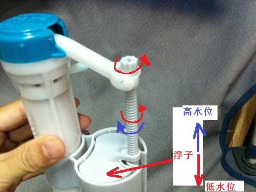科普篇 之 图解马桶冲水量调节 家里马桶冲水不好的请进