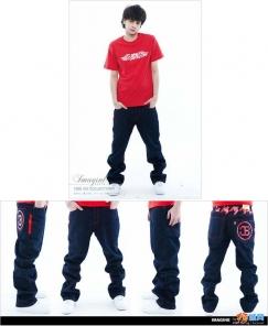 潮牌牛仔裤,滑板,街舞必备----数量有限---10甩