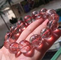 桃花缘[天然极品超七草莓晶]人气石