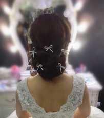 婚礼化妆套餐~$388包光疗甲补妆造型