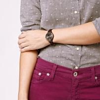 已售---FOSSIL全新正品女式手表 (英国出差带回)-ES3200
