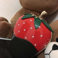 [出售] 美国kate spade 草莓水钻包