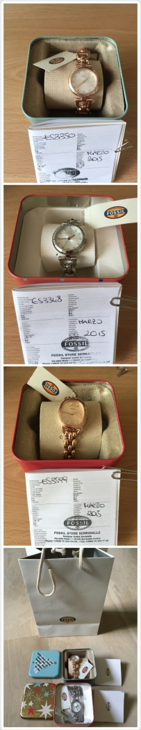 本人米兰带回全新正品---FOSSIL--手表,包包(漂亮,实用)