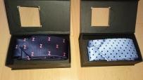 出售闲置领带2条,颜色如下,15新一个!