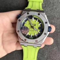 春天来了  就该带点颜色主题手表 爱彼皇家橡树离岸15710彩色