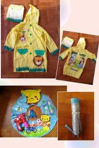 儿童雨衣组