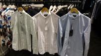 出售闲置丹麦品牌休闲衬衫,全新 浅蓝 粉 绿!M码 35新一件