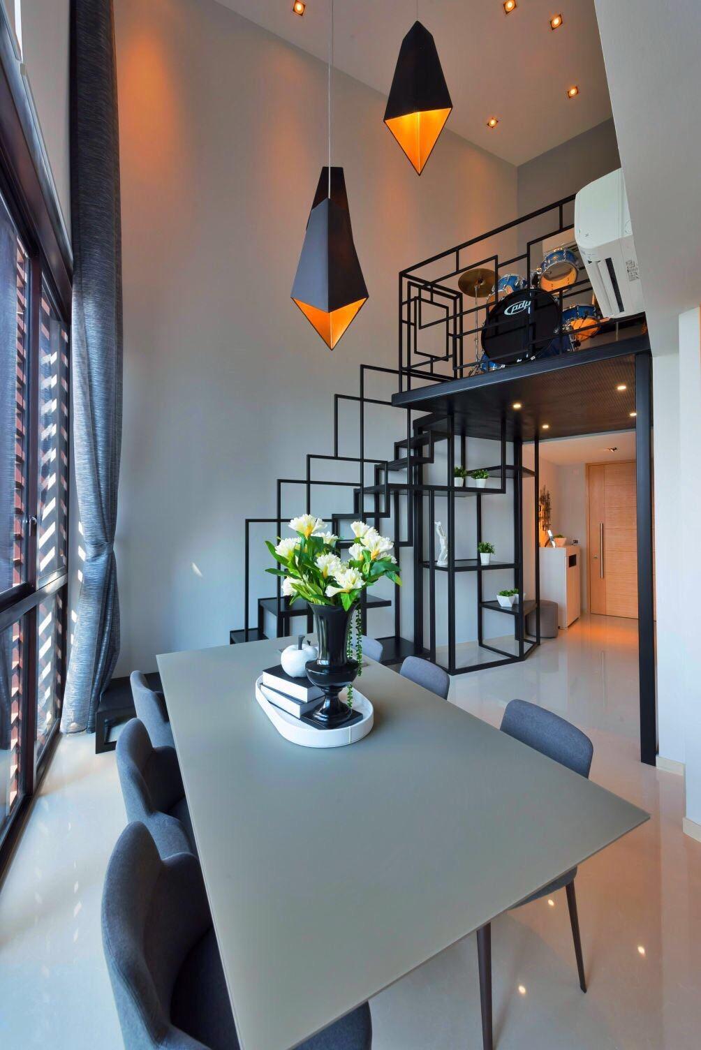 挑高客厅设计,更显高雅。