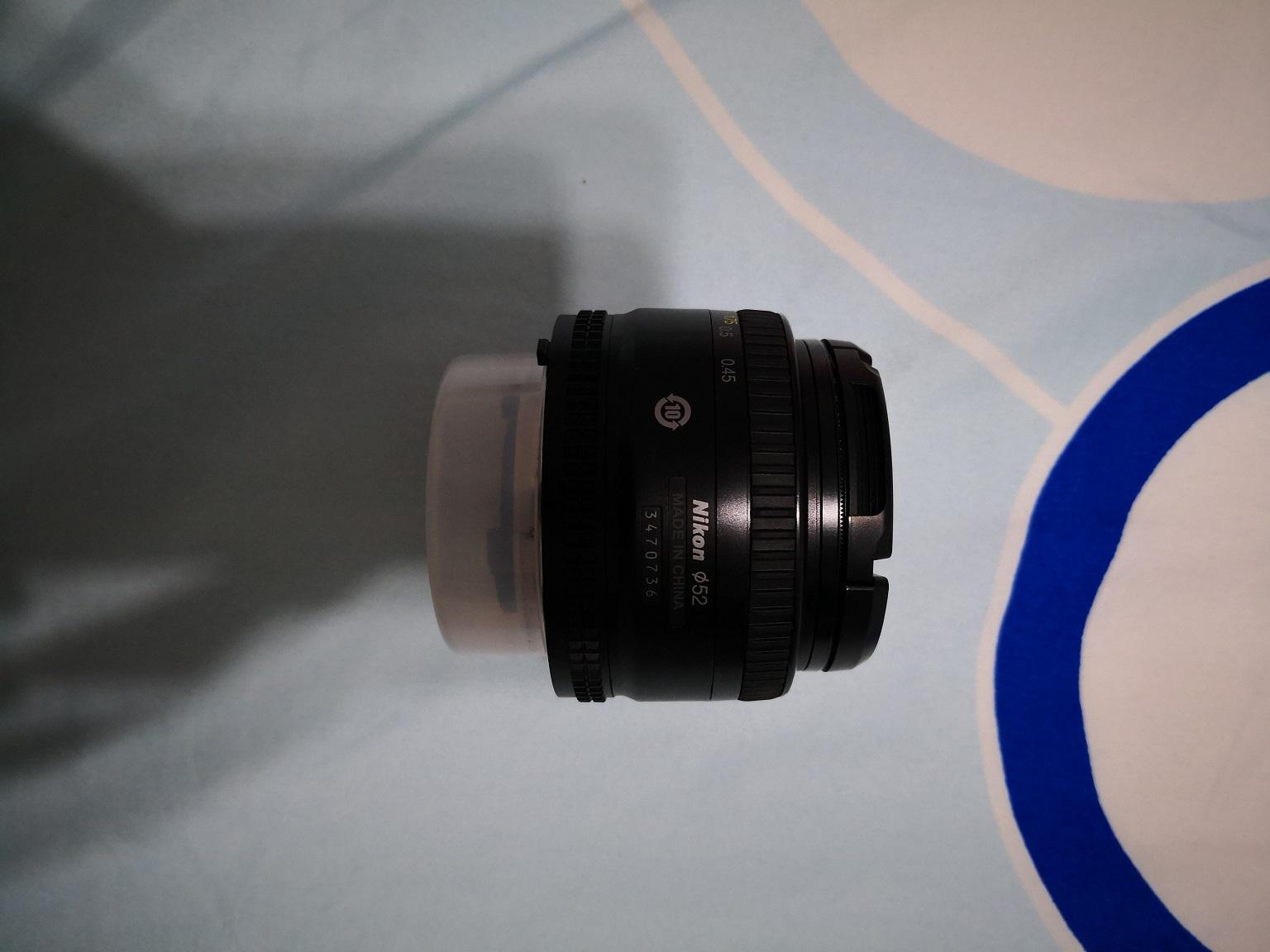 Nikon 50/F1.8