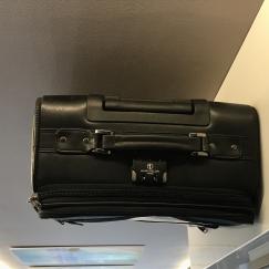 ALAIN DELON PARIS 全皮商务旅行箱