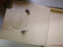 本地品牌珠宝品牌citigems钻石耳环