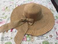 9.9成新草帽