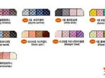Castlledew ColorShot Eyes 4 color palette no.7 Pleasure Brownies