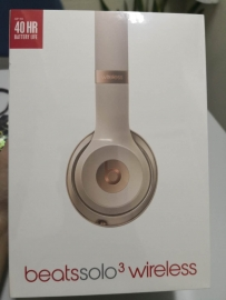 全新苹果无线耳机beatssolo3 wireless on-ear headphone