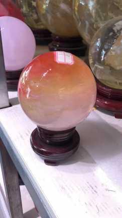 100%天然水晶球(鸿运当头。)