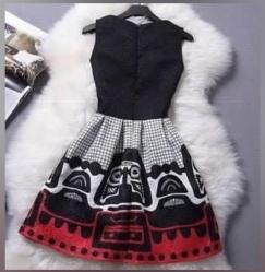 降价3条$15!小黑裙S码美裙1条$7!