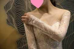 幸福传递!高定婚纱礼服