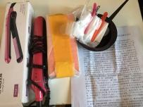 转让飞科直发器和全新未拆威娜直发膏(带全套离子烫工具
