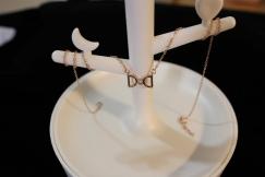 925银项链D&D玫瑰金