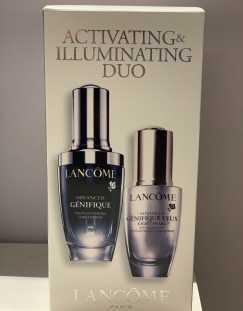 Lancome Genifique illuminating duo 眼霜和脸霜
