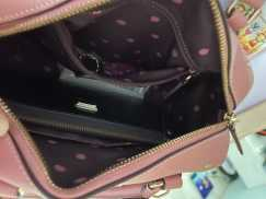 coach 正品米老鼠印花 粉色女士包包