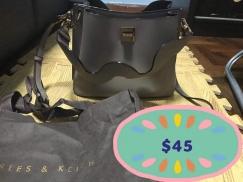 新加坡小CK女士背包 CK2-50270076_TAUPE_L Charles & Keith Wavy Strap Handbag