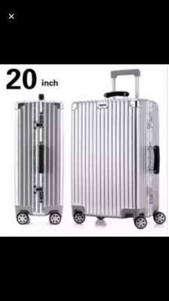 20英寸旅行箱$95