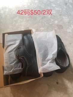 新劳保鞋,43码,两双50新