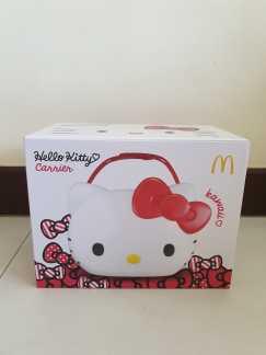 全新吉蒂猫饮料薯条桶 (Hello Kitty Carrier) 出售