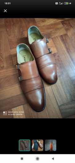 Double monk男士皮鞋