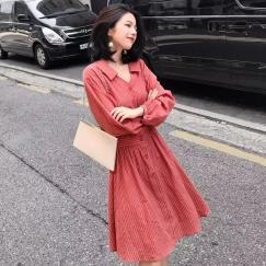 衬衫连衣裙~复古文艺~$50/条