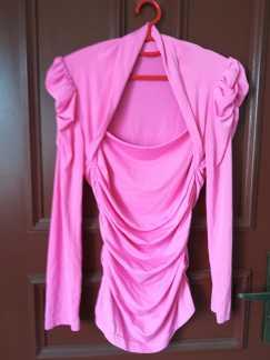 女式弹性长袖衬衫S$5