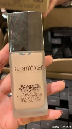 全新 Laura Mercier Candleglow 粉底液