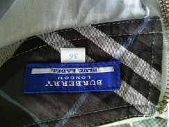 浅蓝色灯芯绒长裙 S$8