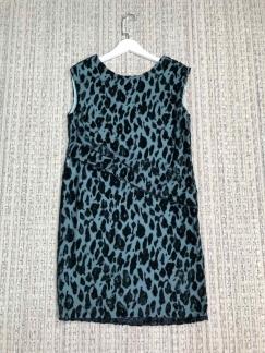阿玛尼豹纹连衣裙