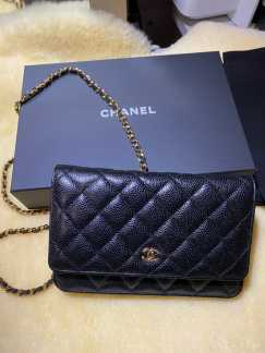 Chanel WOC 黑金