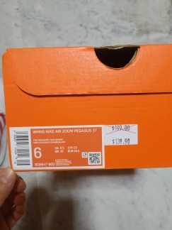 出售一双Nike跑步鞋(粉色)