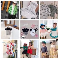厂家直销,量大从优:儿童短袖t恤纯棉宝宝卡通薄短袖女童夏季新款韩版童单件t恤童装