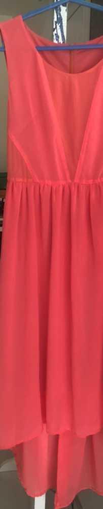 雪纺高档连衣裙低价出售$8 估计可以穿到110斤,腰部有松紧带