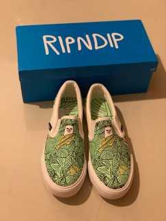 RIPNDIP 全新帆布球鞋