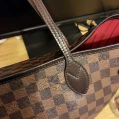 正品LV neverfull MM size