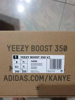 阿迪达斯 Yeezy Boost 350 v2 Black NR