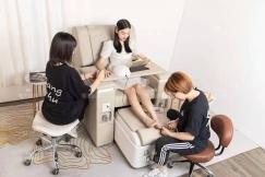 全新一手厂家直销多功能美甲美睫美足纹眉纹绣沙发