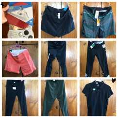 运动弹性长裤、运动短裤,