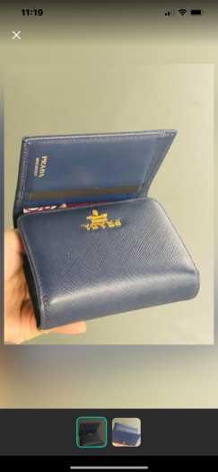 便宜出售二手Prada钱包