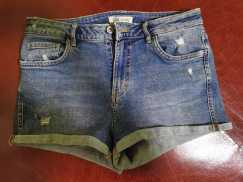 ZARA全新牛仔短裤