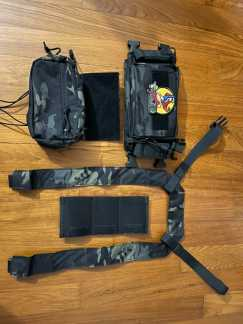 SOETAC 胸包 MK3战术胸挂 轻量化战术胸包