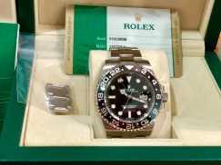 劳力士手表GMT黑色已经出售!