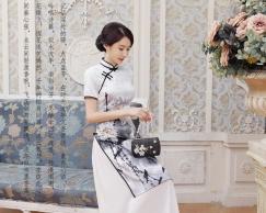 卡西服饰精品店-旗袍/唐装/和服/童装/太极服/马甲/戏服专卖